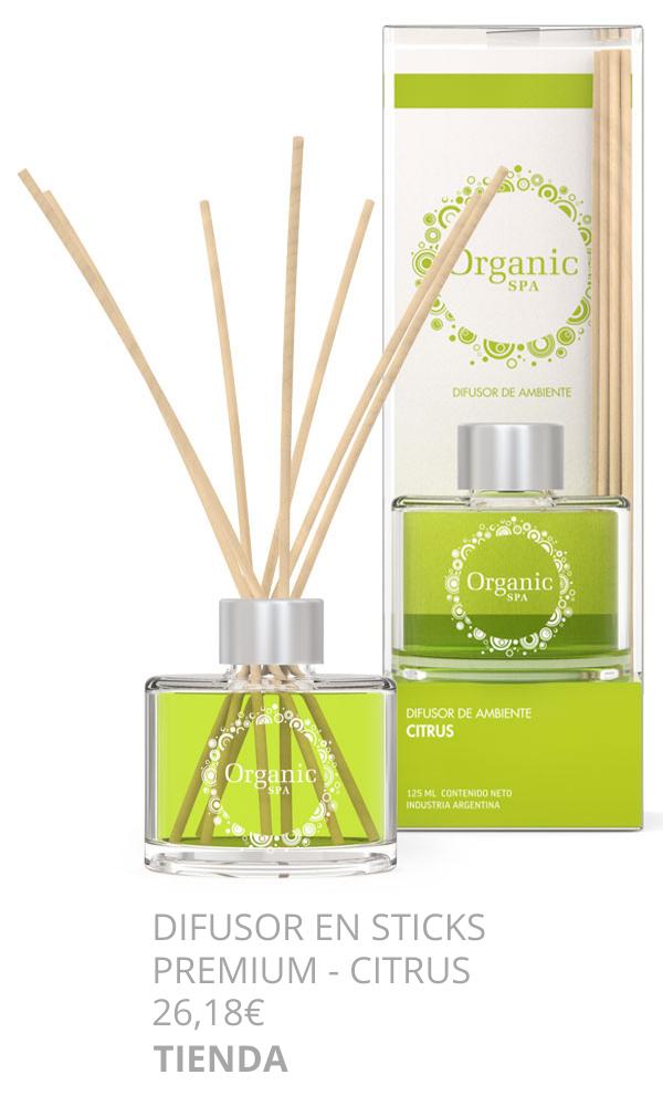 difusor en sticks citrus espacio aroma